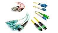 Mixed single mode & multimode fiber