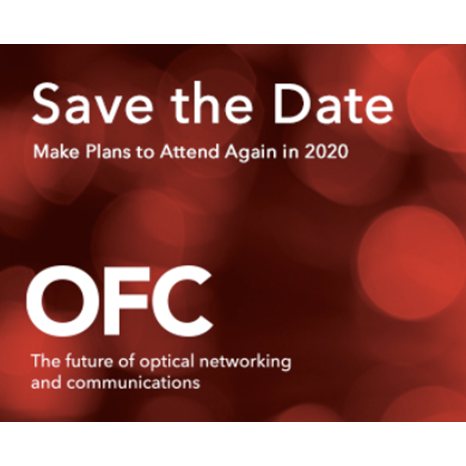 See you at the OFC Exhibition, San Diego, 10-12 March 2020